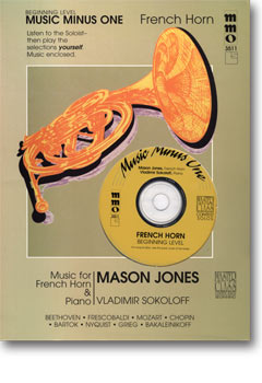 Beginning French Horn Solos -  vol. I (Mason Jones)