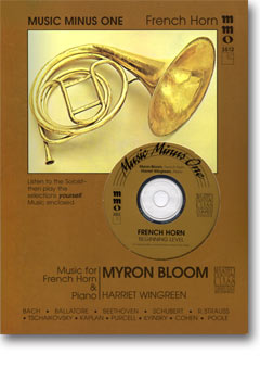 Beginning French Horn Solos -  vol. II (Myron Bloom)