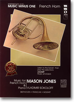 Intermediate French Horn Solos -  vol. II (Mason Jones)