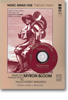 Advanced French Horn Solos -  vol. I (Myron Bloom)