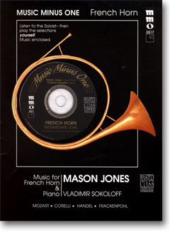Intermediate French Horn Solos -  vol. III (Mason Jones)