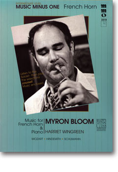 Advanced French Horn Solos -  vol. III (Myron Bloom)