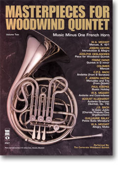 Woodwind Quintets -  vol. II: Masterpieces for Woodwind Quintet (minus French Horn)