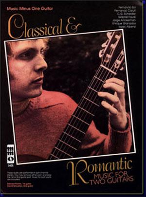 Classical & Romantic Guitar Duets (minus Guitar)