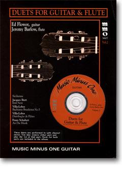 Guitar and Flute Duets -  vol. II (3 CD set) (minus Guitar)