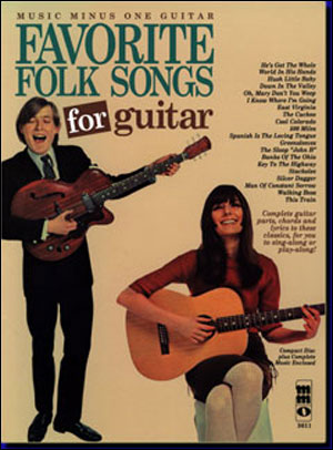 Favorite Folks Songs For Guitar (minus Guitar)
