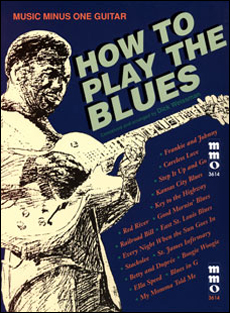 Play The Blues Guitar: A Dick Weissman Method (minus Guitar)