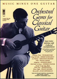 Orchestral Gems for Classical Guitar (minus Guitar)
