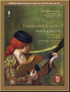 CARULLI Two Guitar Concerti (E minor -  op. 140 and A major -  op. 8a) (minus Guitar)