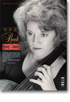 C.P.E. BACH Violoncello Concerto in A minor -  Wq170/H432 (minus Violoncello)