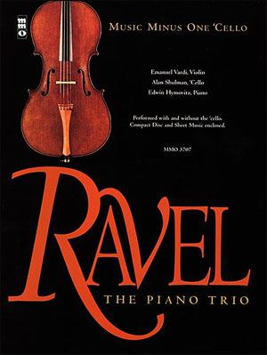 RAVEL Piano Trio in A minor (minus Violoncello)