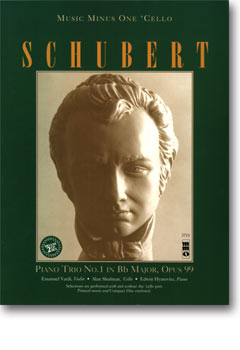 SCHUBERT Piano Trio in B-flat major -  op. 99 -  D898 (2 CD Set) (minus Violoncello)