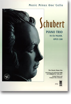 SCHUBERT Piano Trio in E-flat major -  op. 100 -  D929 (2 CD Set) (minus Violoncello)