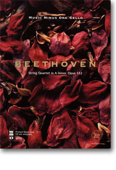 BEETHOVEN String Quartet in A minor -  op. 132 (2 CD Set) (minus Violoncello)