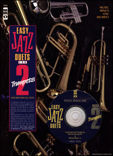 Easy Jazz Duets for Two Trumpets and Rhythm Section (minus Trumpet)