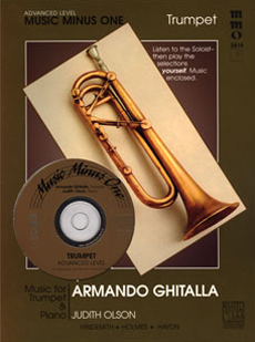 Advanced Trumpet Solos -  vol. III (Armando Ghitalla)
