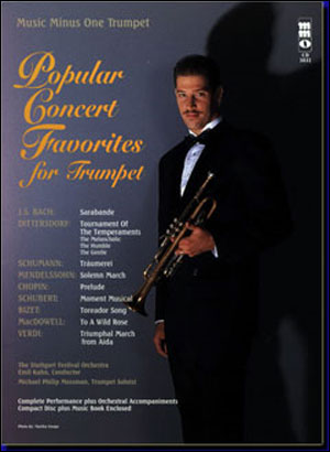 Popular Concert Favorites for Trumpet with Orchestra (minus Trumpet)