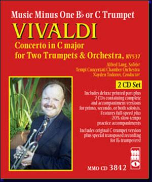 VIVALDI Concerto for Two Trumpets (minus Trumpet)