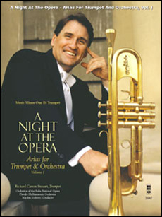 A Night at the Opera: Opera Arias for Trumpet and Orchestra -  vol. I (minus Trumpet)