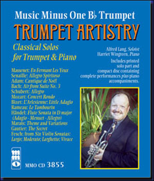 Trumpet Artistry: Classical Solos for Trumpet with Piano (minus Trumpet)