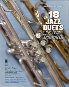 Trumpet Duets in Jazz - 18 Duets (Burt Collins) (minus Trumpet)