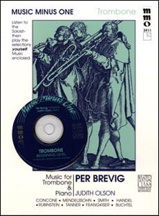 Beginning Trombone Solos -  vol. I (Per Brevig) (minus Trombone)