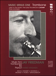Beginning Trombone Solos -  vol. II (Jay Friedman) (minus Trombone)