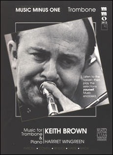 Intermediate Trombone Solos -  vol. I (Keith Brown) (minus Trombone)