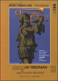 Intermediate Trombone Solos -  vol. II (Jay Friedman) (minus Trombone)