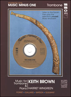 Advanced Trombone Solos -  vol. I (Keith Brown) (minus Trombone)