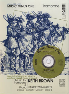 Advanced Trombone Solos -  vol. III (Keith Brown) (minus Trombone)