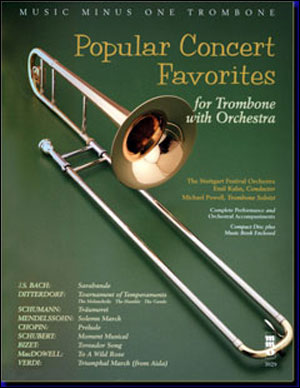 Popular Concert Favorites with Orchestra (minus Trombone)