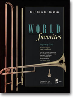 World Favorites: Student Editions -  41 Easy Selections (1st-2nd year) (minus Trombone)