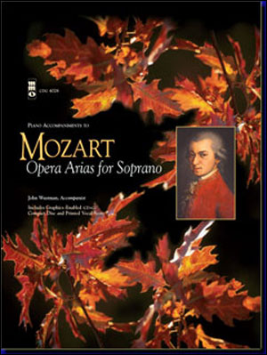 MOZART Arias For Soprano (minus Vocal Soprano)