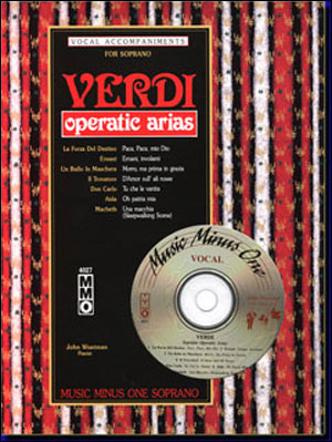 VERDI Arias For Soprano (minus Vocal Soprano)
