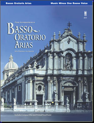 Oratorio Arias For Bass (minus Vocal Bass-Baritone)
