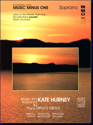 Beginning Soprano Solos (Kate Hurney) (minus Vocal Soprano)