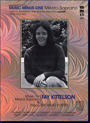 Beginning Mezzo Soprano Solos (Fay Kittelson) (minus Vocal Mezzo-Soprano)