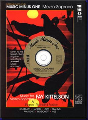 Intermediate Mezzo Soprano Solos (Fay Kittelson) (minus Vocal Mezzo-Soprano)