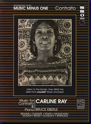 Beginning Contralto Solos (Carline Ray) (minus Vocal Contralto)