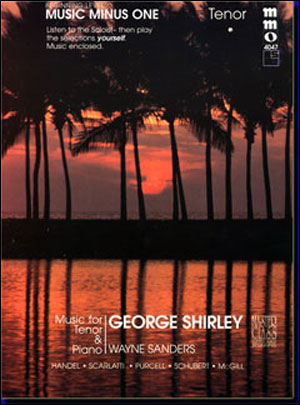 Beginning Tenor Solos (George Shirley) (minus Vocal Tenor)