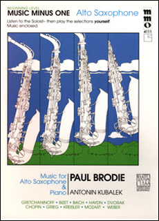 Beginning Alto Sax Solos -  vol. I (Paul Brodie)