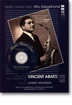 Intermediate Alto Sax Solos -  vol. II (Vincent Abato)