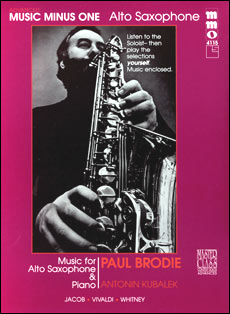 Advanced Alto Sax Solos -  vol. I (Paul Brodie)