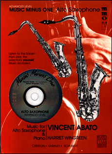 Advanced Alto Sax Solos -  vol. II (Vincent Abato)