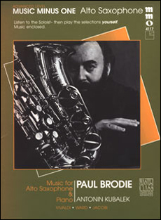 Advanced Alto Sax Solos -  vol. III (Paul Brodie)
