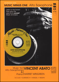 Advanced Alto Sax Solos -  vol. IV (Vincent Abato)