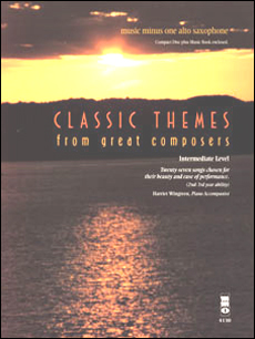 Classic Themes: Student Editions -  27 Easy Songs (2nd-3rd year) (minus Alto Saxophone)