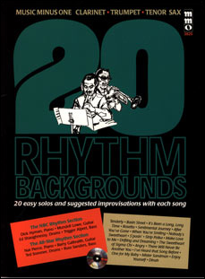 20 Rhythm Backgrounds - Clarinet/Trumpet/Tenor Sax