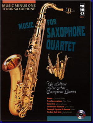 Music for Saxophone Quartet (minus Tenor Saxophone)